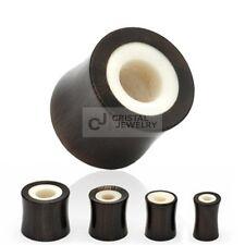 TUNNEL PLUG AUS HORN & BONE PIERCING EAR LOBE 12mm