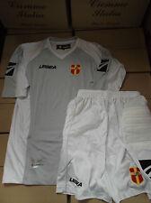 maglia portiere + pantaloncino short messina nuovi nuovo taglia L bianco