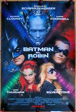 Original 1997 Movie Poster Batman & Robin Advance Poster