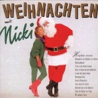 """NICKI """"WEIHNACHTEN MIT NICKI"""" CD 12 TRACKS NEU"""