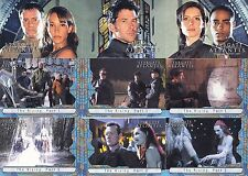 STARGATE ATLANTIS SEASON 1 ONE 2005 RITTENHOUSE COMPLETE BASE CARD SET OF 63 TV