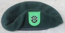 Authentic New US Army 10th Special Forces Group Green Beret, US Government Issue