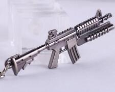 Cross Fire CS CF Submachine Gun KeyRing M16A1 Miniature Weapon Model Keychain✿