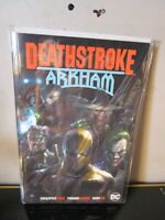 Deathstroke Arkham TP DC COMICS BAGGED BOARDED