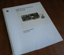 NEW Apple II+ II Plus IIe Super Serial Card User's Manual Sealed 1985030-1258-C