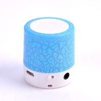 Fashion Mini LED MP3/4 Player Speaker Portable TF USB Music Sound Subwoofer