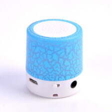Mini Portable LED Music MP3/4 Player Speaker TF USB Music Sound Subwoofer Color