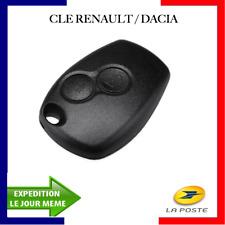 Coque télécommande clé plip compatible Dacia Sandero Duster Lodgy Logan 2boutons