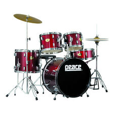 New Student All-in-one Drumset complete with cymbals, stands and pedals