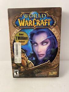 Blizzard World of Warcraft PC 2004 Game Original Box 5 Disc Plus Key No manual