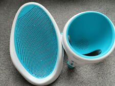 Angelcare Aqua Blue Baby Bath Support & Bath Seat