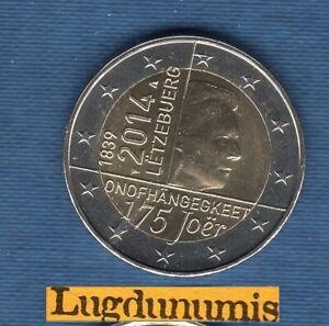 2 euro Commémo Luxembourg 2014 Indépendance du Luxembourg
