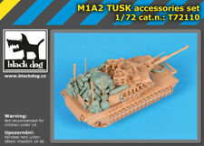 Black Dog 1/72 M1A2 TUSK Stowage Accessories Set for Tiger Models