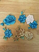 Pretty Victorian Roses - 4 - Iron-On Appliques