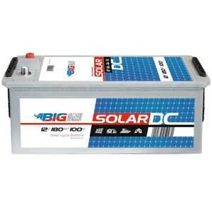 BIG Solarbatterie 12V 180Ah Versorgung Notstrom Windkraft Batterie 200Ah 150Ah