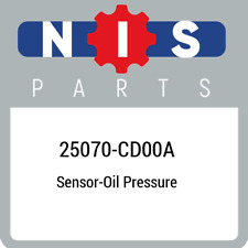 25070-CD00A Nissan Sensor-oil pressure 25070CD00A, New Genuine OEM Part
