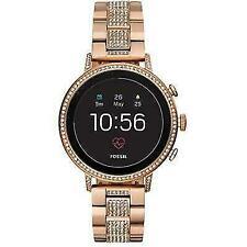 Fossil Women's Gen 4 Q Venture HR Stainless Steel Smartwatch - Rose Gold
