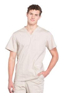 Cherokee Workwear Professionals Scrubs Men's V-Neck Scrub Top
