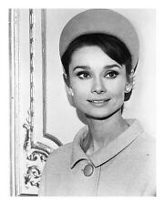 AUDREY HEPBURN great 8x10 costume portrait still from CHARADE -- (n102)
