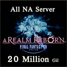 FINAL FANTASY XIV 20000000 GIL FF14 20 Million FFXIV All NA Server PC PS3 PS4