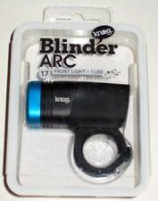 Knog *BLUE* Blinder Arc 1.7 USB Front Light Bike Headlight LED Rechargeable NEW