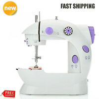 Electric Sewing Machine 12 Stitches Adjustable 2 Speed Foot Pedal LED Deskt q2w