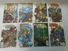 Cable & Deadpool lot 8 different issues (2004-07) 8.0 VF