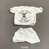 "1:6 Scale 21st Century US Air Force Shirt & Shorts For 12"" GI Joe BBI DID Figure"