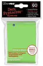 10x PACKS of YuGiOh, Small Ultra-Pro LIME GREEN Card Sleeves 60ct NEW!