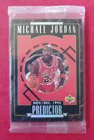 MICHAEL JORDAN 1995-96 Upper Deck *PREDICTOR* Complete Sealed Insert Set of 10!!