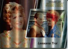 Star Trek Women Of 50th Metal Parallel Base Card #74 Lwaxana Troi and Odo