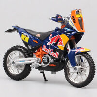 1/18 KTM 450 Rally Dakar 2013 No.1 Macro red bull Motocross Motorcycle Toy Model