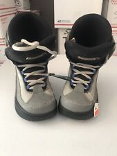 NITRO - MEN - SNOW BOARDING BOOTS - SIZE 6 - GRAY  (ABX5 - 09)