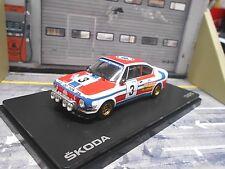 SKODA 130 RS 130RS Barum Rallye 1976 #3 Haugland Floene NEU Abrex 1:43