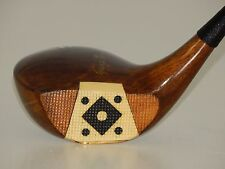 VINTAGE REFINISHED Duncan Model George Wright Fancy Face Brassie Golf Club
