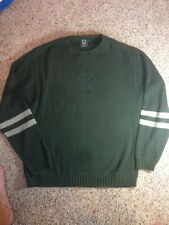 BURTON Men's Long Sleeve Pullover Sweater Shirt Top Size Large. Green Ked