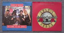 "2 GUNS N' ROSES 7"" Vinyl 45's ""Welcome To The Jungle"" ""Sweet Child O' Mine"""