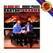 PERAHIA SOLTI Bartok Sonata  2 Pianos & Percussion Brahms Haydn Variations CD