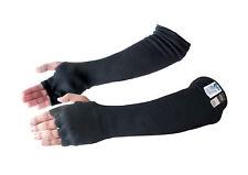 Kevlar® Cut & Heat Resistant Designer Arm Sleeves with Finger Openings - Black 1
