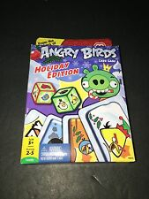New Mattel Angry Birds Card Game Holiday Edition King Pig Red Chuck Blue
