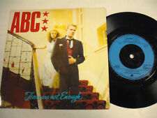 """ABC  Tears Are Not Enough  7"""" UK"""