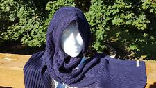 NWT  Columbia Cabled Cutie Women's Scarf  Navy Blue  NEW