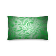 Green Electric Pattern Premium Pillow