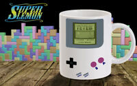 gameboy coffee mug tetris retro zelda mario  nintendo old console gaming coffee