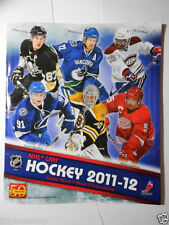 2011-12 PANINI NHL Hockey Unused Empty Sticker DIrect From Factory Album