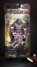 Gears of War 3 Figur Theron Sentinel NECA (Helm zu) NEU OVP Player Select Locust