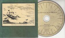 KING CREOSOTE & JON HOPKINS Missionary 2011 UK 2-track promo CD