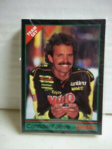 1991 Traks - Kyle Petty Team Set - 25 Cards - Mello Yellow NASCAR Racing