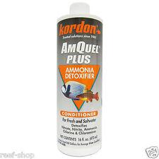 Kordon Amquel Plus 16oz REEF SAFE Ammonia & Chlorine Remover FREE USA SHIPPING!