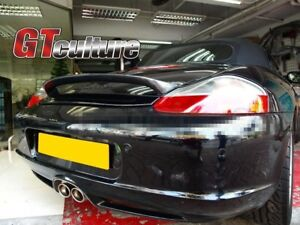 For Carbon Fiber PORSCHE 1997-2004 Boxster 986 Sport Rear Wing Trunk Spoiler